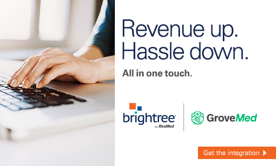 Revenue up. Hassle down. ePurchasing with GroveMed